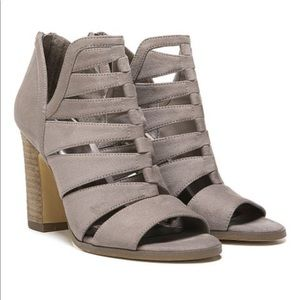 Here We Go Cut Out Peep Toe Ankle Boot